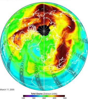 Astronews - Distance entre la terre et la couche d ozone ...